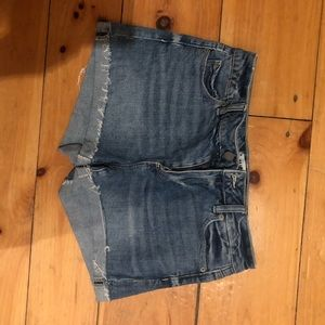 Size 27 high waisted jeans shorts